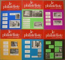 REVUE LE PHILATELISTE  UNIVERSEL Année 1979 N° 942 à 947 Juin à Décembre - Magazines