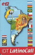 Netherlands: Prepaid IDT - Latino Call 09.04 - [3] Sim Cards, Prepaid & Refills