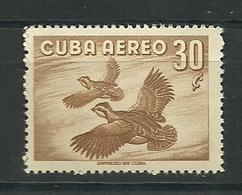 CUBA 1956 AEREO  Mi:CU 502, Sn:CU C142, Yt:CU PA141    ** MNH - Cuba