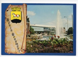 Henin Beaumont : Jet D'eau Et Piscine - Parchemin Armoirie - Henin-Beaumont