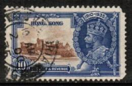HONG KONG  Scott # 149 USED FAULTS (Stamp Scan # 420) - Hong Kong (...-1997)