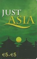 Netherlands: Prepaid IDT - Just Asia - Niederlande