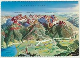 AK  Orientierungskarte Map Maurach Rofangebirge - Cartes Géographiques