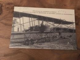 260/  AERODROME DE TOUSSUS LE NOBLE MARECHAL DES LOGIS DE BEAUSSIRE DE SEYSSEL PARTANT EN RECONNAISSANCE - Aérodromes