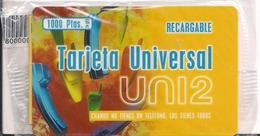 TARJETA UNIERSA UNI 2 1000PTAS - Unclassified