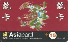 Netherlands: Prepaid IDT - Asia Card 05.04 - Niederlande