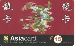 Netherlands: Prepaid IDT - Asia Card 03.04 - Niederlande