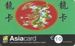 Netherlands: Prepaid IDT - Asia Card 04.04 - Niederlande