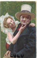 COUPLES 321 : Précurseur : édit. Gussoni Milano ; Chapeau Haut De Forme Blanc - Couples