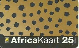 Netherlands: Prepaid IDT - Africa Kaart, Small Serial Number - Niederlande