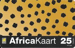 Netherlands: Prepaid IDT - Africa Kaart, Big Serial Number - Niederlande