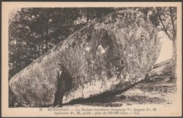 Le Rocher Tremblant, Huelgoat, Finistère, C.1920s - Lévy Et Neurdein CPA LL21 - Huelgoat