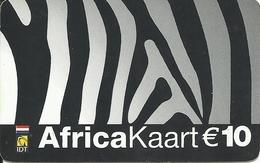 Netherlands: Prepaid IDT - Africa Kaart 01.05 - Niederlande