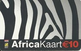 Netherlands: Prepaid IDT - Africa Kaart 02.06 - Niederlande