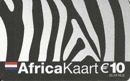 Netherlands: Prepaid IDT - Africa Kaart 01.04 - Niederlande