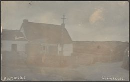 Post Office, Gunwalloe, Cornwall, C.1910 - RP Postcard - England