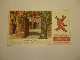 Buvard GRINGOIRE Pithiviers En Gâtinais - Le Musée De Cluny - Gingerbread