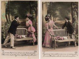 COUPLES 314 : Lot De Deux ; édit. Circé N° 4489 Les 2 - Couples