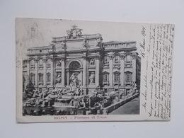 CPA 1904 - Fontana Di Trevi, Aan Adèle ( Zus Van SANDER?) PIERRON Woonde 26, Rue Du Maroquin, Bruxelles - Fontana Di Trevi