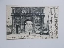 CPA 1904 - Arco Di Costantino, Aan Adèle ( Zus Van SANDER?) PIERRON Woonde 26, Rue Du Maroquin, Bruxelles - Fontana Di Trevi