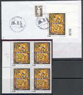 FRANCE 1990 YT N° 2672 « JAUNE ET GRIS » DE BISSIERE - France