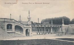 LAEKEN / BRUXELLES / BRUSSEL / LE NOUVEAU PONT AU BOULEVARD BOCKSTAEL  1908 - Laeken