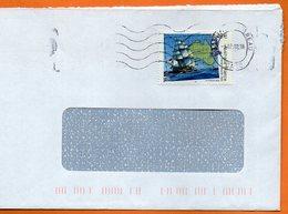 MAURY N° 3458  AUSTRALIE FRANCE    Lettre Entière 110x220 N° KK 799 - Poststempel (Briefe)