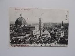 CPA 1904 - Duomo Di FIRENZE, Aan Adèle ( Zus Van SANDER?) PIERRON Woonde 26, Rue Du Maroquin, Bruxelles - Firenze (Florence)
