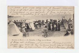 Sur Carte Postale De Pontaillac, Type Mouchon 10 C. Rose. CAD De 1904 Hexagonal Pontaillac. (727) - Marcophilie (Lettres)