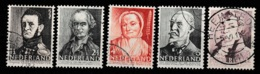 1941 Zomer NVPH 392-396 Gestempeld/ Cancelled - Periodo 1891 – 1948 (Wilhelmina)