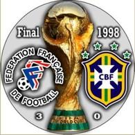 PIN FIFA WORLD CUP 1998 FINAL FRANCE Vs BRASIL - Fussball