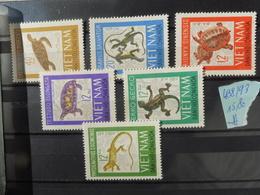 Timbre Vietnam * 488/93 Animaux / Dieren Reptiles Et Tortues - Viêt-Nam