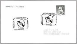 Matasellos EXFIGALICIA'90. Ferrol, Galicia, 1990 - 1931-Hoy: 2ª República - ... Juan Carlos I