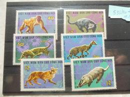 Timbre Vietnam * 535/40 Animaux / Dieren Cats Chat, Singe Etc - Viêt-Nam