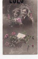 COUPLES 307 : Carte Taxé : Bonne Année - Couples