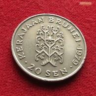 Brunei 20 Sen 1979 KM 18 - Brunei