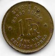 1 Franc Congo-Belge 1944 - 1934-1945: Leopold III