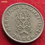 Brunei 20 Sen 1974 KM 12 - Brunei