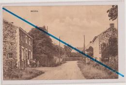 CP MOHA - WANZE...une Rue Du Village..école Ou Famille Nombreuse.. - Wanze