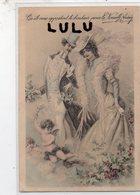 COUPLES 304 : Ange Nouvelle Année 1907 ; édit. ? - Couples