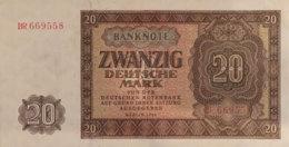 Germany East 20 Deutsche Mark, SBZ-15b/Ro.344b (1948) - AU - [ 6] 1949-1990 : RDA - Rep. Dem. Tedesca