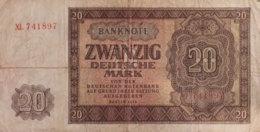 Germany East 20 Deutsche Mark, SBZ-15c/Ro.344c (1948) - Fine - [ 6] 1949-1990: DDR - Duitse Dem. Rep.