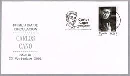 Cantante CARLOS CANO - Singer. SPD/FDC Madrid 2001 - Cantantes
