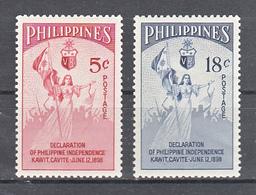 Filippine Philippines Philippinen Filipinas 1954 DECLARATION OF PHILIPPINE INDEPENDENCE Complete Set - MLH* - Filippine