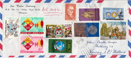 Postal History Cover: Philippines Cover With Several Stamps - Philippines