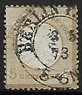 ALLEMAGNE    -     1872  .  Y&T N° 6 Oblitéré.   Cote 125 Euros - Oblitérés