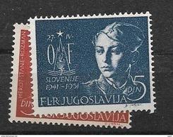 1951 MNH Joegoslavië, Postfris** - Nuovi
