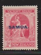 SAMOA Scott # 137 MH - New Zealand Stamp Overprinted - Samoa