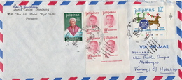 Postal History Cover: Philippines Cover With Several More - Philippines