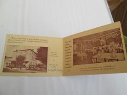 CEYRAT  Carte Commerciale  HOTEL DE LA PROMENADE  Chez La Mere Moulin Tel 13 - Otros Municipios